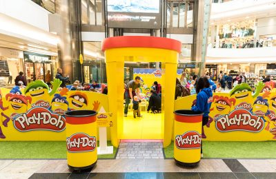 Hasbro's PLAY-DOH brand is visiting cities across the UK this summer with its Imagination Tour roadshow, encouraging families to have fun and be creative with the PLAY-DOH brand through a number of hands-on activities.