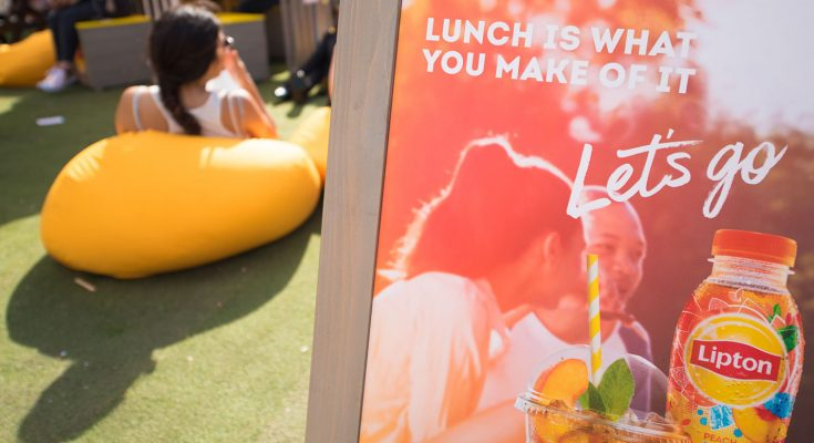 Lipton, the UK's No.1 Ice Tea brand, is visiting city centres nationwide for a 23-day roadshow, as part of its 'Let's Go' summer campaign.
