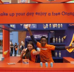 Carbonated soft drink brand Orangina is launching a £2.4m experiential campaign this month, including sampling, plus an exclusive competition for independent retailers.
