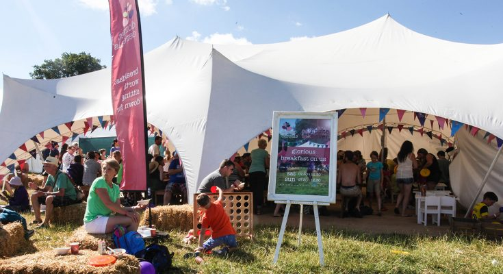 With last year's Dorset Cereals experiential tour delivering 25 live days, 100,000 sample giveaways and an experiential reach of over 280,000, the brand will again be touring family-friendly festivals this summer.