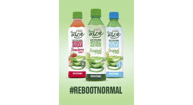 Grace Foods UK is encouraging consumers to #RebootNormal with its biggest ever investment in its Grace Say Aloe soft drinks range. The £1million campaign runs from July to October. It will reach more than 10 million consumers, encouraging shoppers to 'Reboot Your Normal' with a light-hearted take on everyday 'normal' activities.