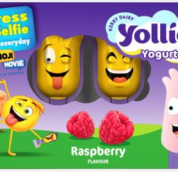 Kerry Foods is joining forces with Sony Pictures Consumer Marketing to run a new 'Express Your Selfie' on-pack promotion for its kids' cheese snacking products, supporting the release of Sony Pictures Animation's upcoming film, The Emoji Movie, released on August 4 2017.