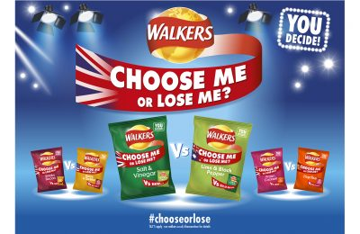 Walkers has launched yet another flavour campaign, this time pitting three UK flavours against three from around the world, with consumers being asked to vote to swap one for the other.