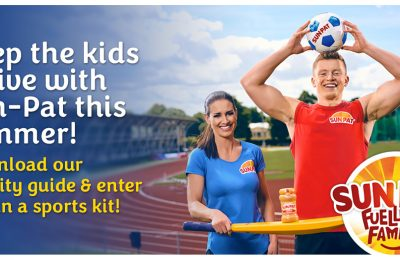 Sun-Pat, the iconic UK peanut butter brand, has launched a campaign aimed at encouraging children to get active this summer in partnership with Olympic gold medallist swimmer Adam Peaty and TV presenter Kirsty Gallacher.