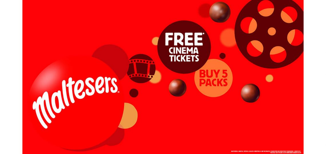 Mars Chocolate UK has announced the return of its Sweet Sundays promotion for the sixth year running. Consumers who buy a range of Mars bitesize products will be able to claim free cinema tickets. Mars says it is its biggest bitesize activation in 2017.