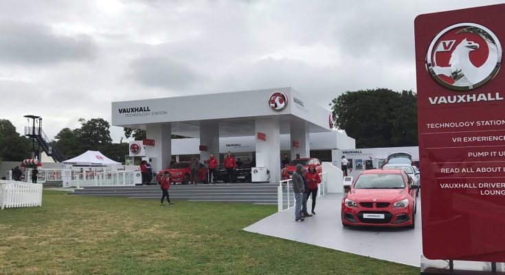 Car manufacturer Vauxhall has delivered a fully immersive experience at this year's Goodwood Festival of Speed, including a Virtual Reality driving simulation, a 'digital windscreen defrost' challenge, a Vauxhall Car Wash fun photo opportunity and child-friendly areas.