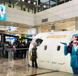 German low-cost airline Eurowings, the State Tourist Board Baden-Württemberg, Europa-Park, and Stuttgart Airport have once again partnered to promote their destinations and brands in the UK via a Virtual Reality experiential activation at Westfield Stratford City.