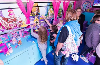 The My Little Pony Friendship Tour, an experiential roadshow celebrating Hasbro's iconic girls's toy brand, My Little Pony, returns to the UK this summer with a refreshed look and feel to celebrate the upcoming release of My Little Pony: The Movie.