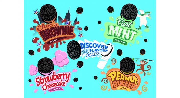 Global food group Mondelez has launched a UK roadshow to back Oreo's new 'Discover Your Flavour' campaign, promoting the new Choc'o Brownie flavour, as voted for by the public, along with the existing Strawberry Cheesecake, Peanut Butter and Cool Mint cookies.