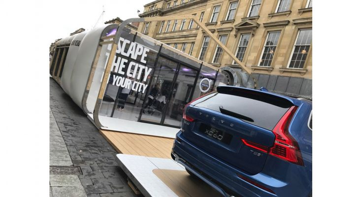 Volvo Car UK is to bring a Scandinavian sanctuary to some of the UK's busiest cities, offering locals a retreat from the stresses and strains of daily life.