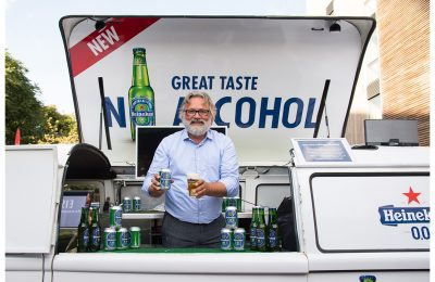 Heineken 0.0 alcohol-free lager was one of the sponsors for the first-ever Mindful Drinking Festival in mid-August.
