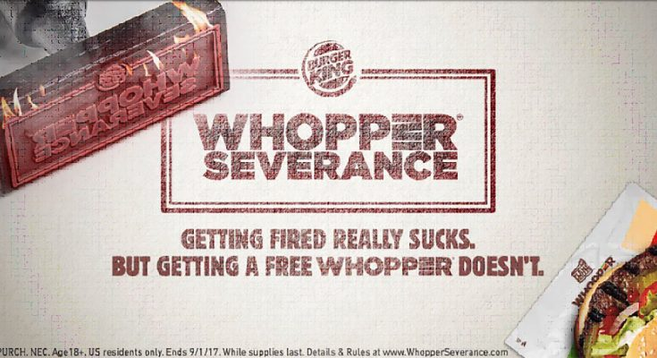 Burger King offers 'Mystery Burgers' in France and free food for sacked workers in US