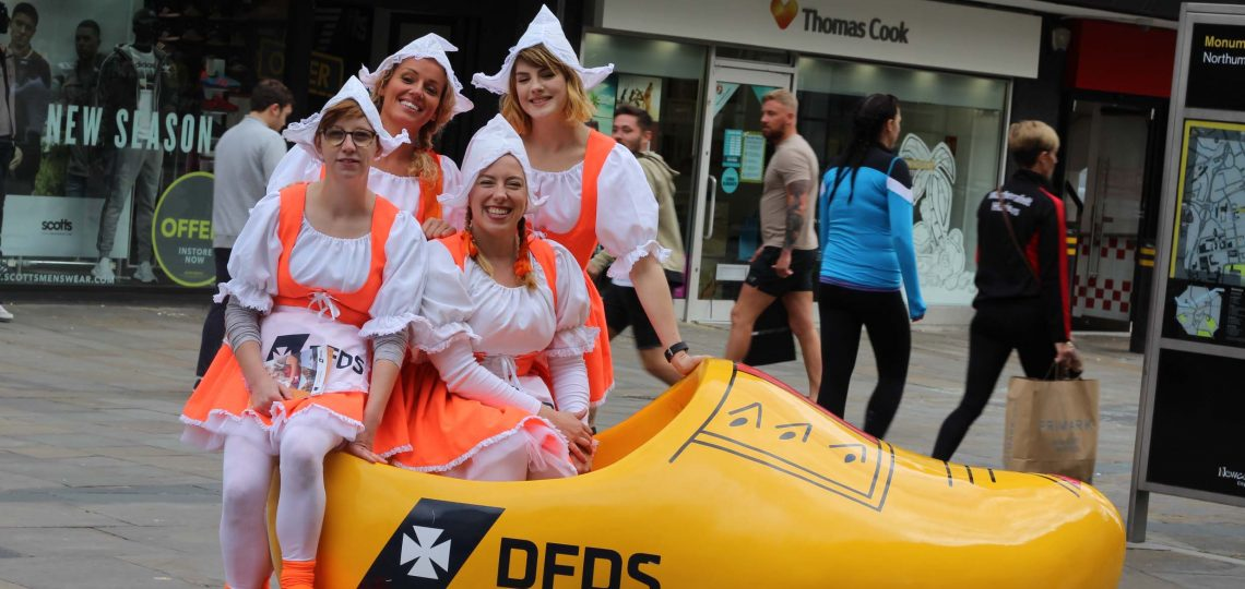 DFDS Seaways is promoting its Newcastle-Amsterdam mini-cruise breaks this Autumn with Dutch-themed experiential activity and the chance to win a mini-cruise.