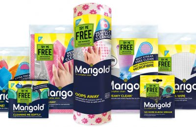 Iconic cleaning brand Marigold, which this year celebrates its 70th anniversary, launched a new nationwide 'Try Me Free' campaign from September 1st, 2017.