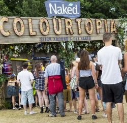 Naked Juice invited visitors to Festival No.6 in Portmeirion, Wales, to step into the brand's Colourtopia experience, a unique space full of possibilities, powered by its products.