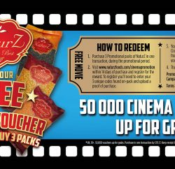 NaturZ Foods, which has been supplying independent stores with pulses, spices and rice since 2011, has launched a cinema ticket promotional reward campaign designed to thank customers for their business.