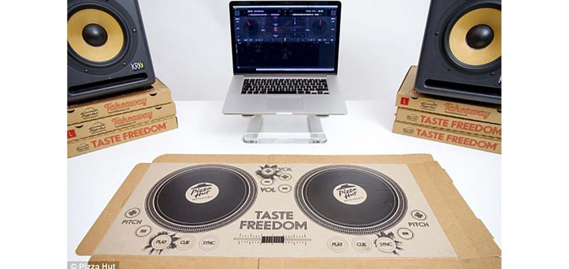 PR company Text 100 triumphed at the IPM COGS 2017 awards ceremony today, taking the Grand Prix and also a Gold in the Innovation category for creating the world's first pizza box which is also a playable DJ turntable.