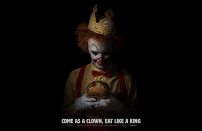 Burger King UK is to give away free Whopper sandwiches to the first 500 customers who turn up at its Leicester Square branch in Central London dressed as a clown.