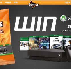 PepsiCo-owned snack brand Doritos has teamed up with Xbox to offer consumers the chance to win more than 70,000 prizes, including the new Xbox One X.
