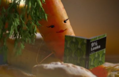 Discount supermarket Aldi has brought back the star of last year's Christmas advertising campaign, Kevin the Carrot, and given him a love interest Katie, with proceeds from plush Kevin and Katie toys sold in store going to charity Teenage Cancer Trust.