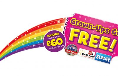 Kellogg's has announced that its exclusive 'Grown-ups Go Free' promotion with Merlin will return from January 2018, this time increasing the voucher value by 20%.