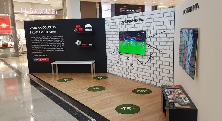 LG Electronics has appointed promotions agency tpf to create 'The Perfect LG TV Experience', an experiential activation designed to inspire consumers to upgrade their TV and invest in one of LG's premium sets.