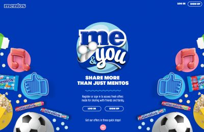Marketing services experts Multi Resource Marketing (MRM) is working with the world's second biggest selling candy brand, Mentos, on its Me&You on-pack loyalty programme in the UK.