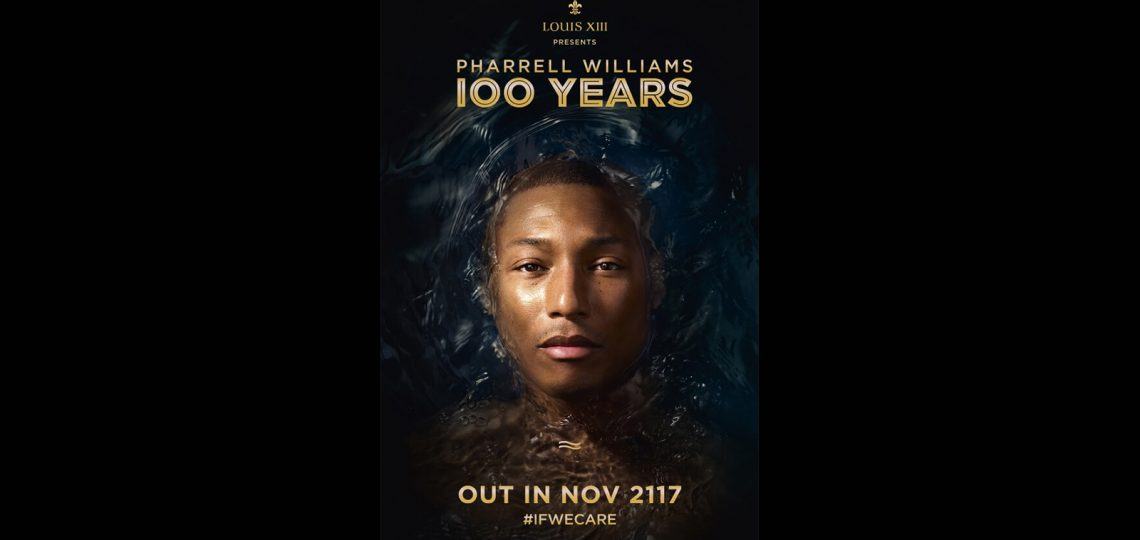 LOUIS XIII Cognac has commissioned an exclusive musical composition from Pharrell Williams which will only be heard in 100 years – and only then if the world's population has taken the necessary steps to combat global climate change.