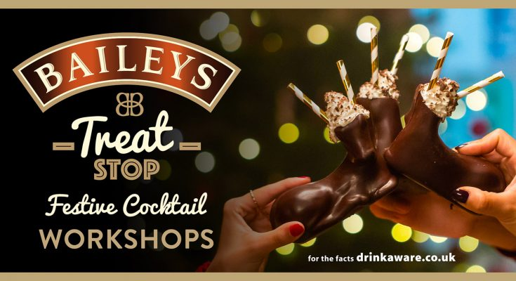 Baileys has launched Baileys Treat Stop, a pop-up featuring the Diageo liqueur brand's first customisable bar menu, where people can transform lattes, hot chocolates and cocktails.