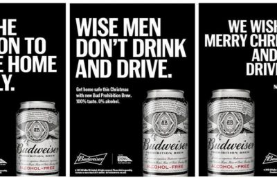 AB InBev, the world's biggest beer company, has been supporting its new alcohol-free beer, Budweiser Prohibition, with a UK anti-drink drive digital and Out Of Home campaign, plus a sampling drive through Tesco.