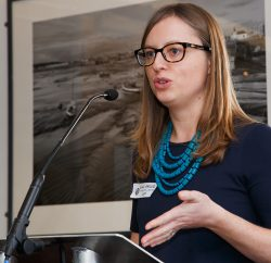 Ella Smillie from CAP announced the planned new rule on gender stereotyping in Cardiff ahead of a reception at the Wales Millennium Centre with Julie James AM, the Minister responsible for Equalities in the Welsh Government.