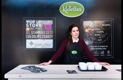 Tozer Seeds has been running a pop-up to promote Kalettes, a natural cross between kale and Brussels sprouts, at Hoxton's Railway Arch, Geffrye Street, London.