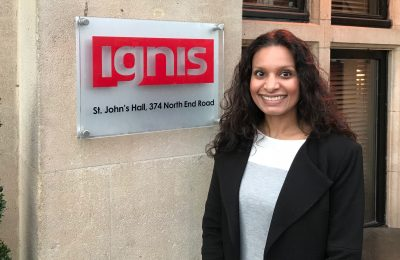 Multi-award winning independent brand experience agency ignis has appointed Asha Kanhai as Business Development Manager.