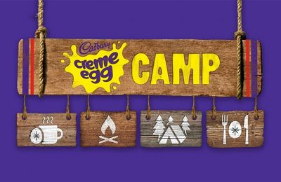 "Cadbury is launching Creme Egg Camp, an ""immersive haven"" for Cadbury Creme Egg lovers. The camp will be open for five weeks from January 19th 2018 in Old Street, London, and will serve a range of Creme Egg inspired treats against a backdrop of a display of Creme Egg ""hunting paraphernalia."" All proceeds from selling tickets will go the The Prince's Trust charity."