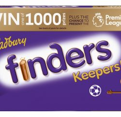Cadbury's Premier League football partnership is moving into biscuits with the launch this month (January 2018) of an on-pack promotion for Cadbury Fingers – Finders Keepers.