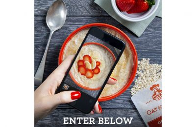 Quaker Oats is running an on-pack promotion offering 10 consumers the chance to win £10,000 (or €10,000 in the Republic of Ireland) by submitting photos of their creative and inspirational porridge bowl or overnights oats creations.