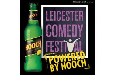Drinks brand Hooch is exclusively sponsoring Leicester Comedy Festival, which celebrates its 25th anniversary this year and which expects to attract 120,000 people to more than 800 shows taking place in over 60 venues around the Midlands town.
