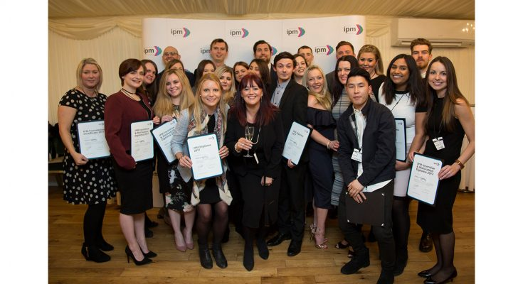 The Institute of Promotional Marketing, the UK industry body for promotional marketing, has just celebrated the latest graduates on its key training courses, the IPM Foundation Certificate, the IPM Diploma and the IPM Incentive & Motivation Diploma.