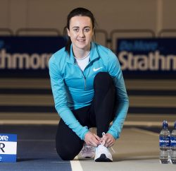 Strathmore bottled water has signed Team GB athlete and last year's European Indoor 1500m and 3000m champion, Laura Muir, as one of its brand ambassadors.