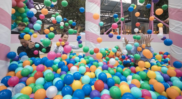 Ben Jerry Runs Birthday Cake Ballpit Sampling Event