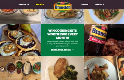 The aim of the campaign is to engage a new audience of food enthusiasts and encourage consumers to use the product in home cooking through an on-pack promotion and an online competition.