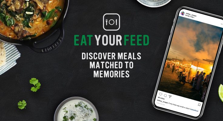 The UK's biggest selling stock brand, Knorr, has launched a new online tool, 'Eat Your Feed', an app which analyses a user's Instagram feed and serves up a personalised selection of recipes based on their experiences.
