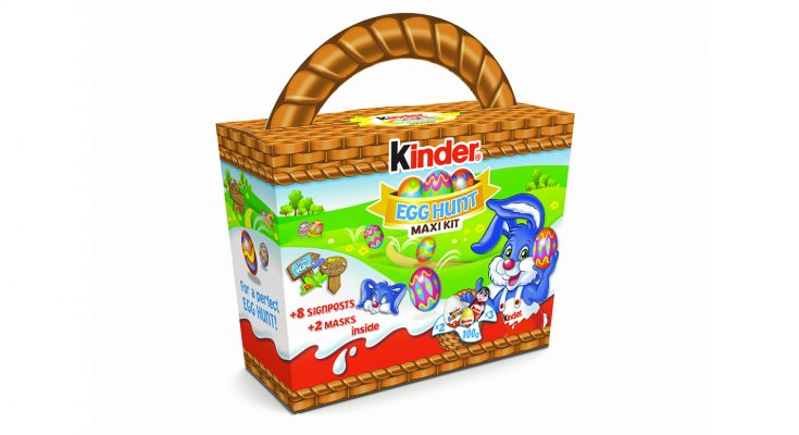 Confectionery brand Kinder is re-running its award-winning retailer competition this Easter, offering retailers the chance to win one of five packs including everything they need to host an in-store Easter Egg Hunt for their local community, including posters for store windows, branded goods and free stock.