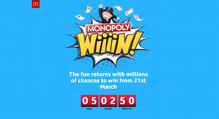 Mcdonalds monopoly nz prizes images
