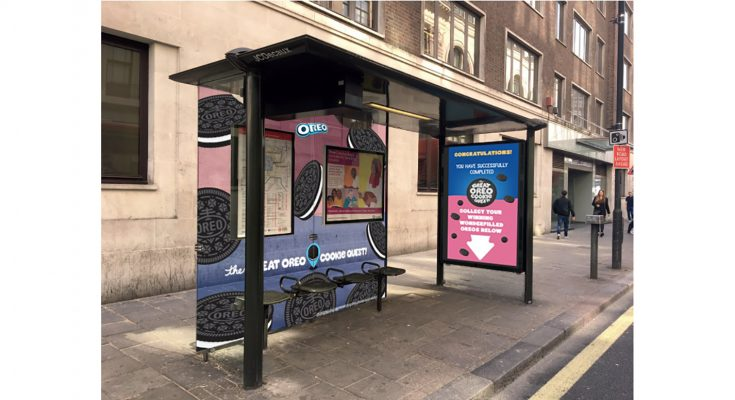 Oreo, the world's biggest-selling biscuit brand, has launched an innovative Out-Of-Home (OOH) campaign across London to drive purchase and participation in its 2018 Great Oreo Cookie Quest promotion.