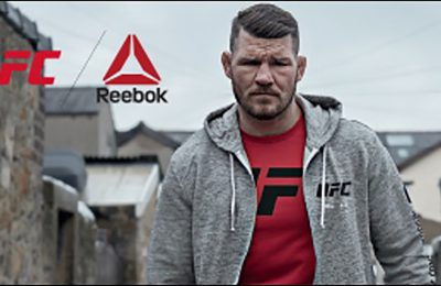 Reebok partnered with Sports Direct for an in-store activation to promote the global athletic footwear and apparel company's association with the Ultimate Fighting Championship and its UFC Fight Night Collection.