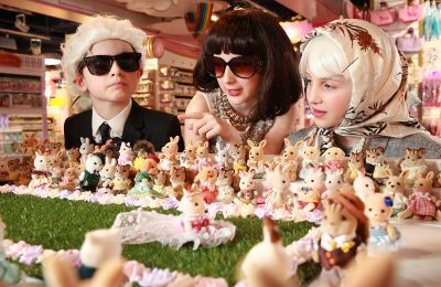 EPOCH making toys – the company behind collectible toy brand Sylvanian Families – is launching its new Town range by creating the world's smallest fashion show, unveiled at Hamleys Regent Street on Thursday March 22nd. A UK-wide experiential roadshow tour with intu shopping centres will follow in April. Credit: Matt Alexander/PA Wire.