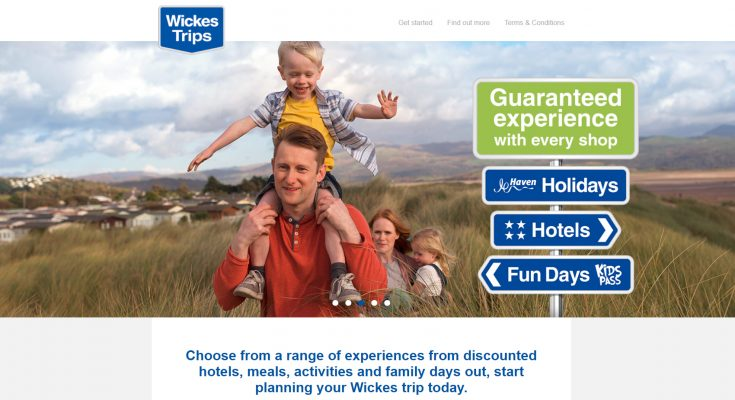 Trade and consumer DIY store chain Wickes has reintroduced its 'Buy now, do it later' campaign, and is backing it with a new initiative, Wickes Trips, which encourages customers to take advantage of the fantastic seasonal offers in store over Easter, but then leave the work for a later date, and enjoy the extra time with their nearest and dearest.