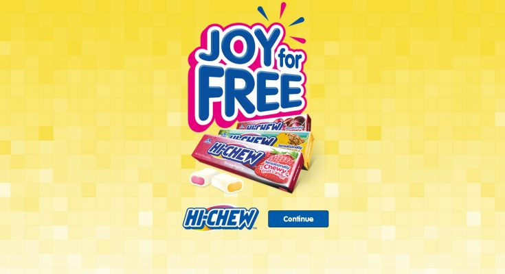 Cult Japanese confectionary brand Hi-CHEW has launched in the UK, backed with a social media promotion which allows London-based consumers to claim a free sample pack.