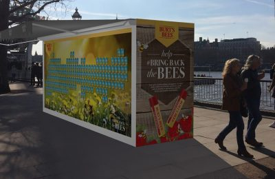Toiletries and personal care brand Burt's Bees is to run a 'Honey Bee Health' experiential campaign this weekend on London's Southbank.